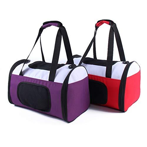 LUGJ Pet Schulranzen, große Kapazitäts-Tasche Einfacher Breathable Travel Bag,...