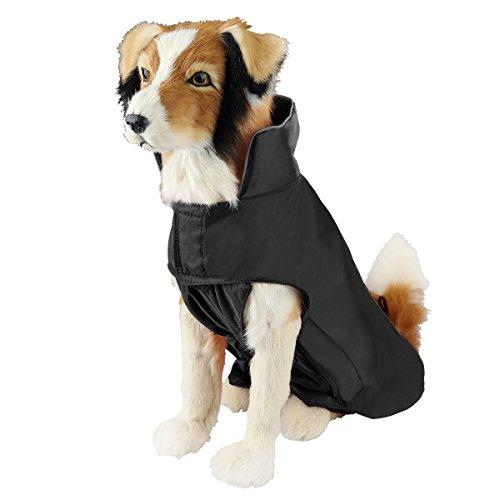 SelfLove Hundemantel aus 100% Wasserdicht Nylon Fleece Futter Jacke...