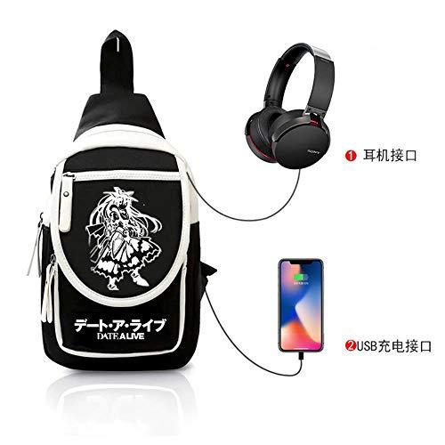A-gavvzw Anime Rucksack Anime Cosplay Rucksack Schultasche Daypack Laptop-Tasche...