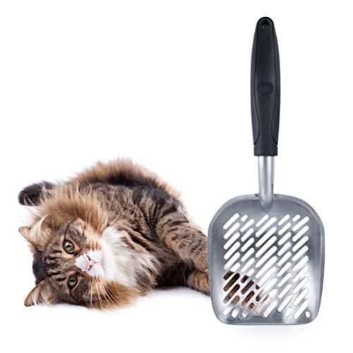 MAOJIE Katzenstreu Schaufel aus Aluminiumlegierung
