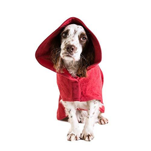 HCBDQQ Hund Badetuch Haustier Badetuch Pet Supplies Hund Saugen Bademantel...