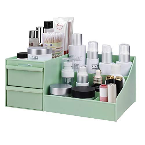 MaoXinTek Make Up Organizer mit Schubladen, Aufbewahrungsbox Kosmetika Schminke...