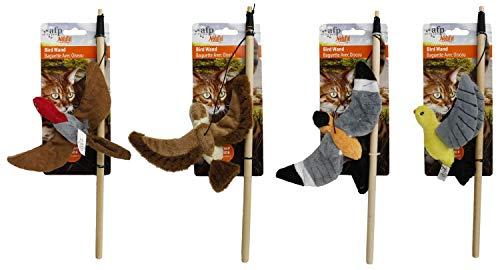 PETGARD 4er Sparpack Katzenspielzeug Katzenangel mit verschiedenen...