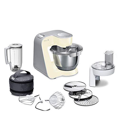 Bosch Küchenmaschine MUM5 CreationLine MUM58920, Edelstahl-Schüssel 3,9 L,...