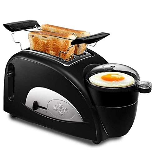 JJZXT Brotmaschine Frühstück Brot-Maschine, Edelstahl Brot-Maschine,...