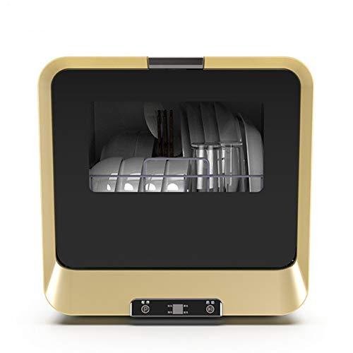 Mini Geschirrspüler, 4 Programme Tischplatte Geschirrspüler 900W 360 °...