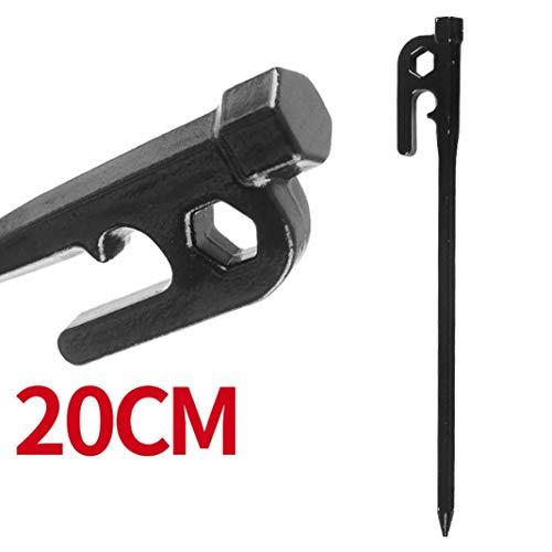 YSHTAN Zeltheringe für Outdoor-Werkzeug, Zeltpfähle 20/25/30 cm,...