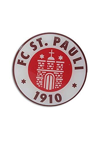 FC St. Pauli Aufkleber, Autoaufkleber, Sticker Logo 3D farbig - Plus Aufkleber...