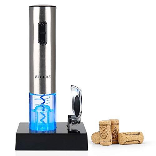 Elektro-Wein-Öffner, automatische elektrische Weinflasche Korkenzieher...