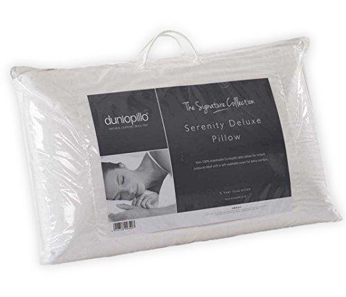 Dunlopillo Serenity Deluxe Latex-Kissen, schlank, Weiß