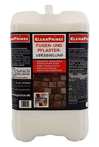 CleanPrince Fugen- und Pflasterversiegelung 5 Liter Fugenfestiger Sandfugen...