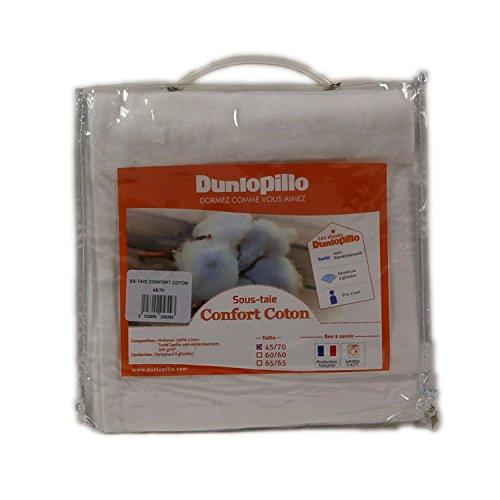 Dunlopillo PLARCA045070DPO-Kissen, 45 x 70 cm, Weiß