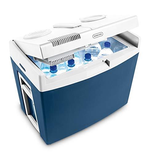 Mobicool MT35W, elektrische Kühlbox mit Rollen und Griff, Batterieschutz, 34...