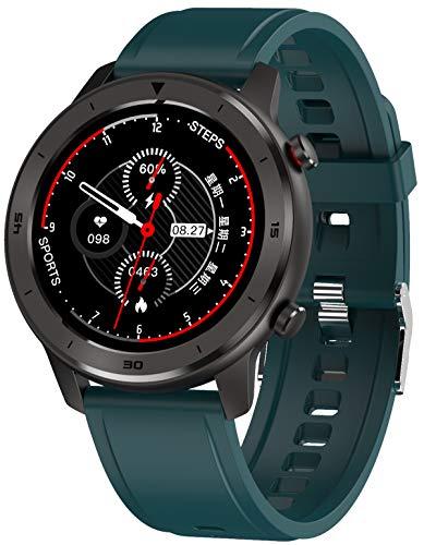 Smartwatch Fitness Armbanduhr mit Pulsmesser Sport Touch Farbdisplay Blutdruck...