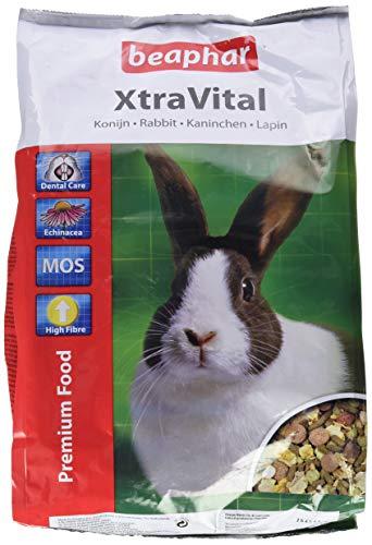 beaphar XtraVital Kaninchen Futter | Ausgewogenes Kaninchenfutter | Mit...