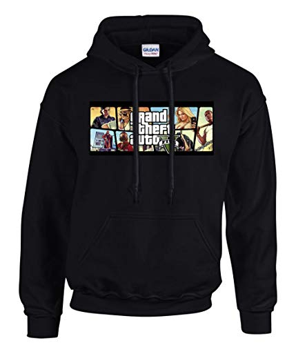 shirt19 GTA V GTA 5 Grand Theft Auto 5 Rockstar Jogos Games Kapuzenpullover...