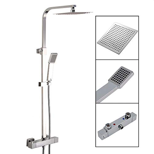 Tronitechnik Duschpaneel Duschsäule Duscharmatur Duschset Duschsystem Edelstahl