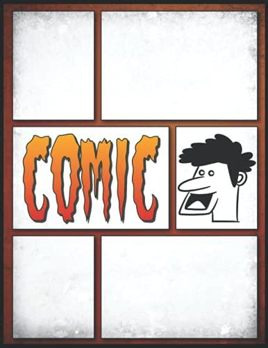 Comic Zeichnen Anime: Erstellen Sie Ihre eigenen Comics Leeres Comic-Buch...
