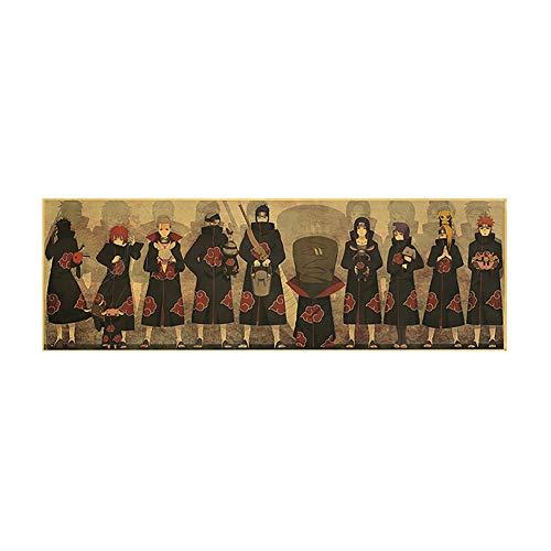 Yicare Anime Poster Naruto Poster Naruto Classic Anime Kraftpapier Poster...