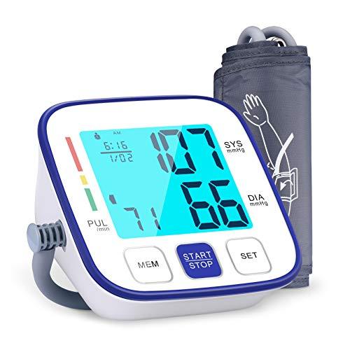 Blutdruckmessgerät für Oberarm, ATMOKO Vollautomatisch Blutdruckmessgerät mit...