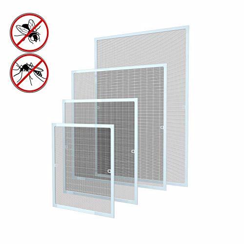 120 x 140 cm Fliegengitter Fenster Insektenschutz Fliegenschutzgitter...