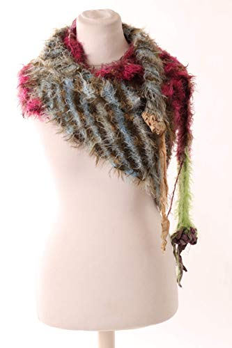 LINTSCHI Design Stricktuch für Damen - hochwertig gestricktes Stricktuch für...
