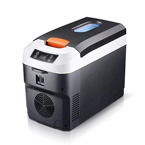 SUIWO Kompakter Kühlschrank, Auto-Kühlschrank, Mini-Kühlschrank, elektrischer...