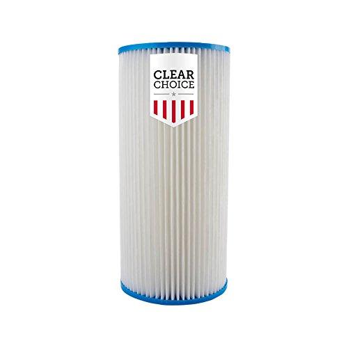 Clear Choice Sediment-Filterkartusche, 25,4 x 11,4 cm, Ersatz für Pentek...