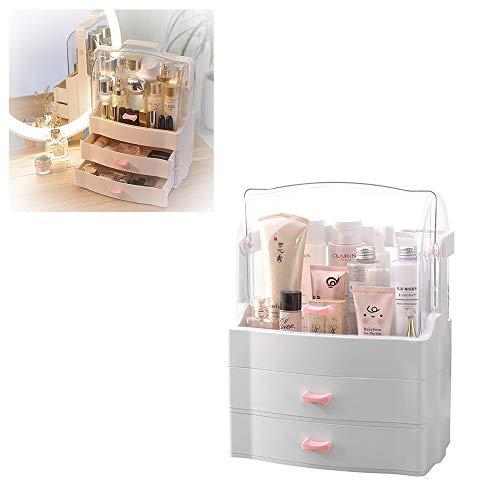 SXWYZ Make-up-Organizer, Frauen Schmuck und kosmetische Speicher-Display-Boxen,...
