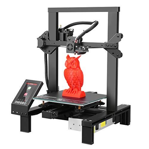 DIGGRO Alpha-3 3D-Drucker, Hochpräziser 3D-Drucker mit 4,3-Zoll-Touchscreen,...