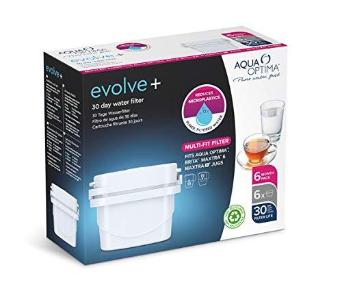 Aqua Optima Evolve+ Wasserfilterkartusche, weiß, Einheitsgröße