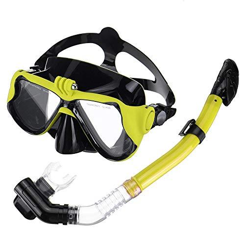 NEHARO Tauchmasken Full Face Tauchmaske Schnorchel Scuba Schwimmen Dry...
