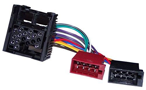 AERZETIX: Adapter Kabelbaum ISO-Stecker für Autoradio Original für Auto C11932