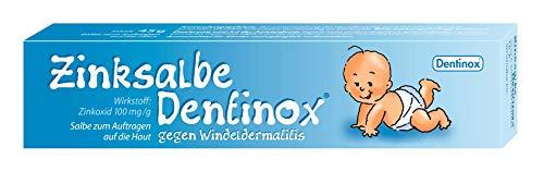 Dentinox Zinksalbe gegen Windeldermatitis rasche milde Wundheilung Wundsalbe...