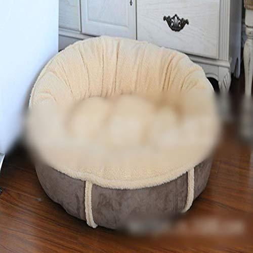BAOLH Haustier-Nest, elliptische Hundehütte, warme Katzenklo, Hundematratze,...