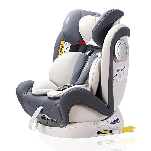LETTAS Baby Kindersitz Autokindersitz Gruppe 0+1/2/3 (0-36 kg/0-12 Year) mit...