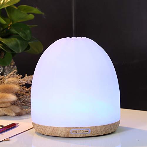 Ultraschall-aromadiffusor Holzmaserung Luftbefeuchter, Schlafzimmer...