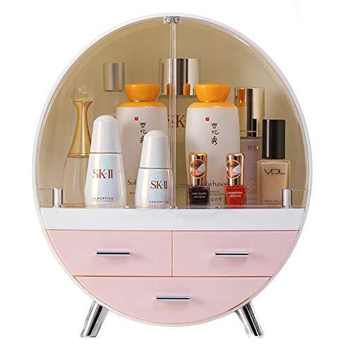 xiaohuozi Groß Makeup Organizer Desktop staubdicht Kosmetische Aufbewahrungsbox...