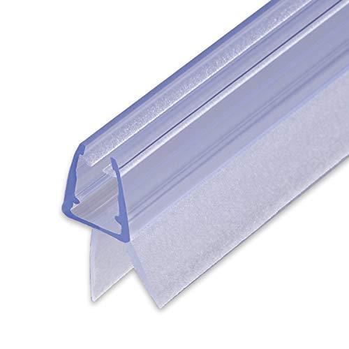100cm Sealis Ersatz Duschdichtung - Dichtung für 5mm/ 6mm/ 7mm/ 8mm Glastür...