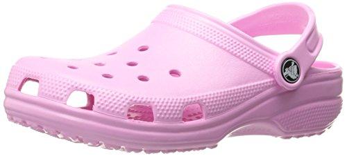 crocs Unisex-Kinder Classic Kids Clogs, Pink (Carnation 6I2), 22/23 EU