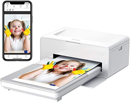 Victure Photo Printer Portable Fotodrucker, Sofortbilddrucker zum Drucken (4 x...