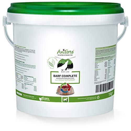 AniForte Barf Complete Pulver für Hunde 1 kg - 100% Natur Rundumversorgung -...