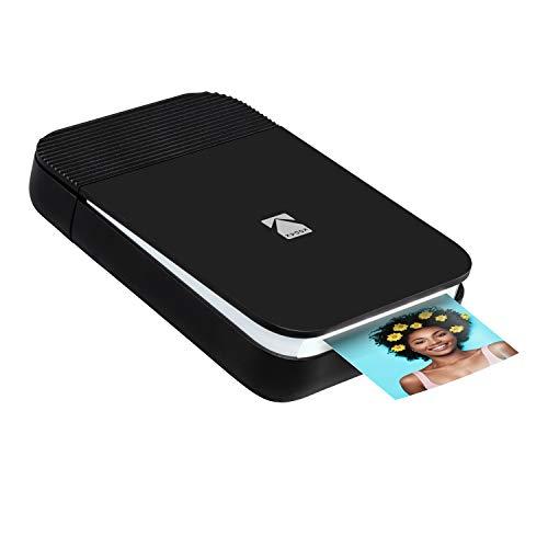 Kodak Smile Fotodrucker für Smartphone (IOS & Android) - Tintenloser...