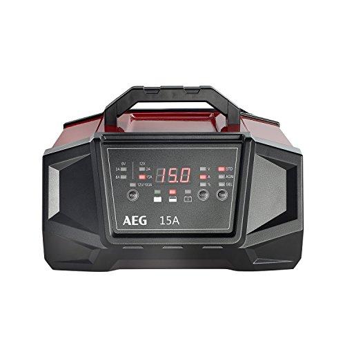 AEG 158009 Werkstatt-Ladegerät WM Ampere für 6 und 12 Volt Batterien, mit...