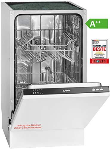 Bomann GSPE 891 Einbau-Geschirrspüler / EEK A++ / vollintegrierte Ausführung /...