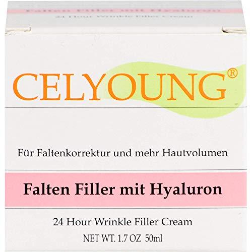 CELYOUNG Falten Filler mit Hyaluron Creme, 50 ml Creme