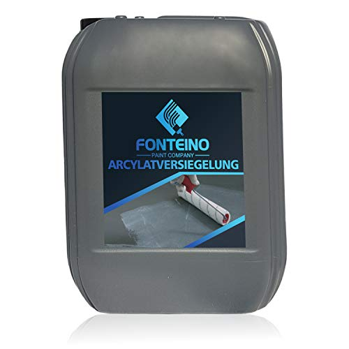 Bodenversiegelung Acrylat Versiegelung für Beton Boden Beschichtung Farblos 5L