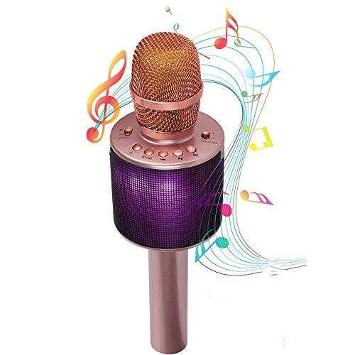 Bluetooth-Karaoke-Mikrofon-Wireless-Karaoke-Mikrofon-kann mit einem Duo mit Dual...