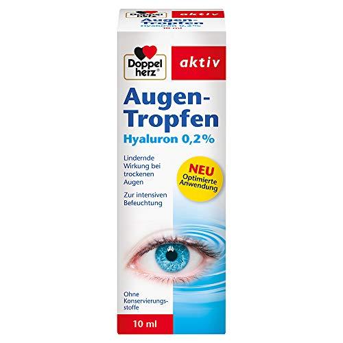 Doppelherz Augen-Tropfen Hyaluron 0,2% – Medizinprodukt ohne...
