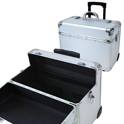 T.Z. Case International T.z Apl-910t Pilotenkoffer mit Rollen, 46 x 25 x 33 cm,...